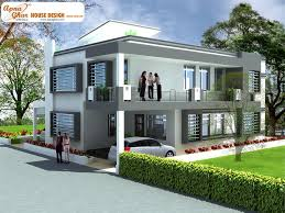 Duplex Designs Duplex House Design Apnaghar House Design