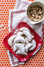 classic almond crescent cookies good cook good cook