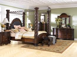 Recamaras Ashley Furniture by Luxury And Classic Canopy Bedroom Sets North Shore Panel Bedroom