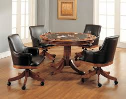 uncategorized dining room chairs on casters 7 best dining room