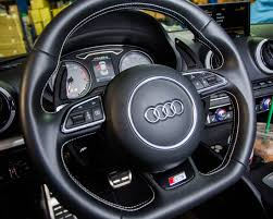 audi all models agency power paddle shifter extensions black audi all models