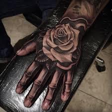 hand job tattoo blackandgrey on instagram
