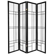 5 panel room divider 6 ft black 5 panel room divider cdblx 5p blk the home depot