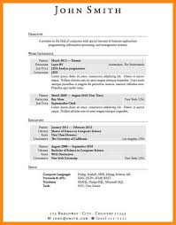 Resume Tips For Highschool Students Resume Templates For First Job Resume Template For High