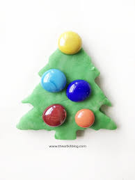 scented christmas tree playdough recipe for kids