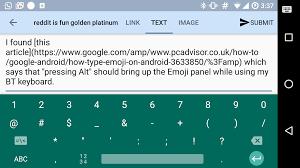 gboard adding emoji when using a bluetooth keyboard