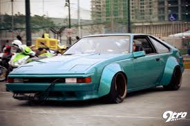 stanced toyota celica stance pilipinas new year u0027s meet street scrapers 9tro