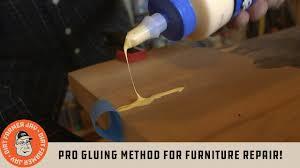 best glue for cabinet repair pro gluing method for furniture repair