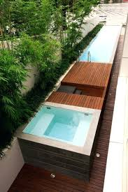 above ground lap pool decofurnish in ground lap pool bullyfreeworld above ground lap pools dop designs