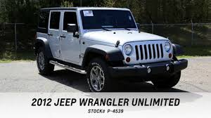 2012 jeep wrangler unlimited for sale grand rapids mi by tinney