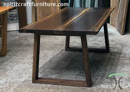 live edge table chicago live edge and slab dining and conference tables and tops a walnut
