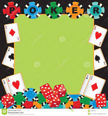 Invitation For Cards Party Poker Night Invitation Card Stock Photos Image 31741233