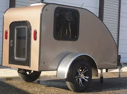Gidget Bondi For Sale by Motorcycle Camping Trailers Of A Tarp And A Full Size Camper