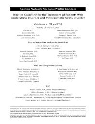 am agement petit bureau guideline for the treatment of patients pdf available