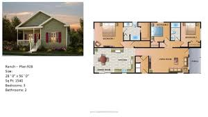Home Building Plans And Prices by Modular Home Ranch Plan 928 2 Jpg