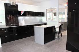 ex display kitchen island wren autograph black gloss ex display kitchen with island and