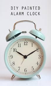 design evolving easy diy painted ikea alarm clock
