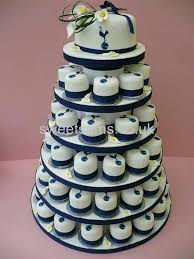 Cupcake Wedding Cake 55 Best Blue And White Wedding Cupcakes And Cakes Images On