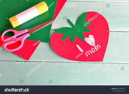 greeting card mothers day words love stock photo 412878784