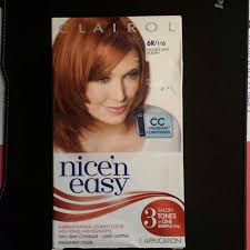 clairol nice n easy natural light auburn other clairol nice n easy 6r110 natural light auburn poshmark