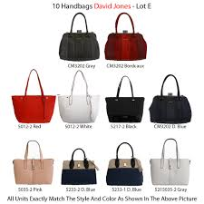 david jones handbags category