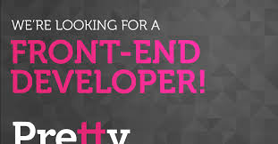 Seeking Join The Front End Developers To Join The Pretty Fold