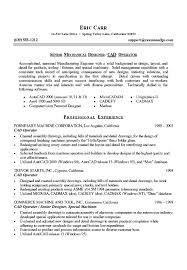 Sample Resume For A Student by Download Cad Design Engineer Sample Resume Haadyaooverbayresort Com