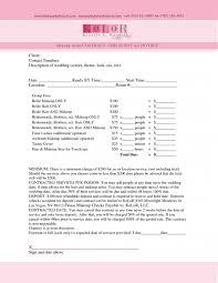 makeup contracts for weddings wedding makeup consultation form mugeek vidalondon
