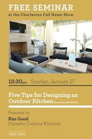 free seminar five tips for designing an outdoor kitchen