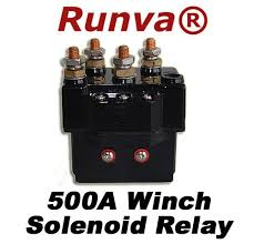 winch relay solenoid 12v 500amps for recovery winch 5000lb to