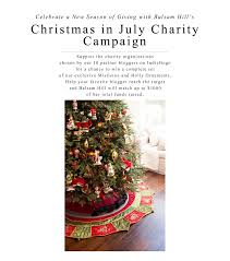 christmas in july balsam hill doubles the donations