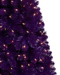 purple artificial tree treetopia