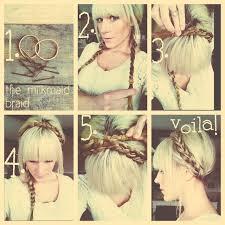 braided pinup hairstyles crazy retro hairstyle tutorials hair pinterest retro