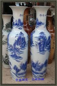 White Ceramic Floor Vase Buy Jingdezhen Ceramic Large Floor Vase Blue And White Porcelain