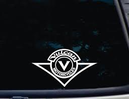 kawasaki emblem kawasaki vulcan funny die cut vinyl window decal a 1201