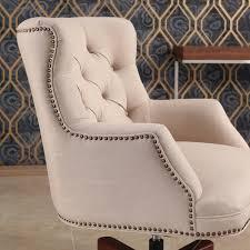 abbyson andover cream adjustable swivel office chair free