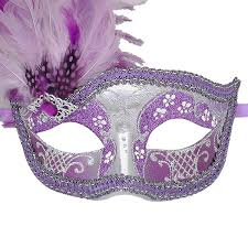 silver masks venetian mask in london for purple and silver can can feathered
