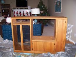 homemade play kitchen ideas entertainment center into a play kitchen