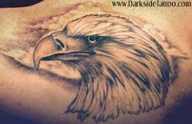 for unique tattoos eagle head