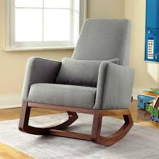Upholstered Rocking Chair Nursery Gray Upholstered Rocking Chairs For Nursery Nursery Ideas Best