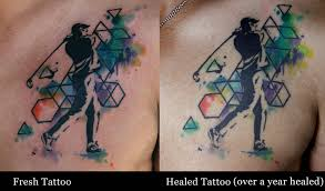 how will watercolor tattoos age deanna wardin