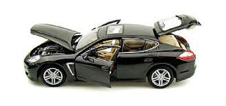 car porsche panamera porsche panamera turbo met grey diecast model car 1 18 scale