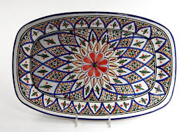 painted platters tabarka painted platters products artisan and