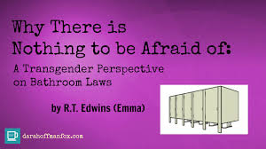 why there is nothing to be afraid of a transgender perspective on