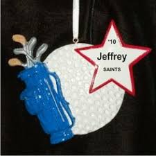 golf bag ornament ornaments for the