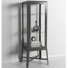 ikea fabrikor ikea fabrikor glass door cabinet dark gray lockable industrial