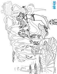 mermaid coloring pages free online games drawing for kids