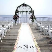 Aisle Runner Personalized Aisle Runner Wedding Aisle Runners