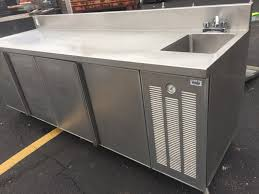 stainless steel hand sink stainless steel refrigerated table with hand sink mb food