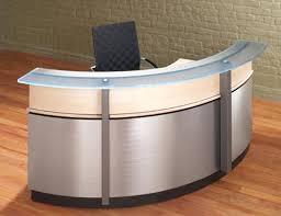 Curved Reception Desk For Sale Reception Desk Extraordinary Small Curved Reception Desk For